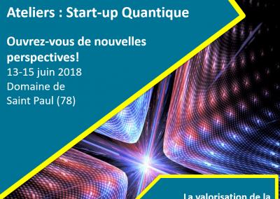 Ateliers Start-up Quantique : Valorisez la recherche par la création d'entreprise