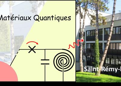 Colloque LIA « Circuit et matériaux quantiques»