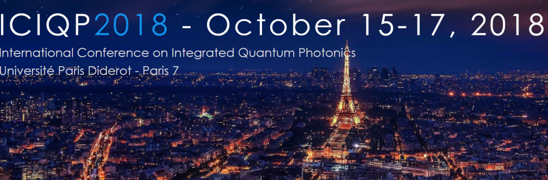 2nd International Conference on   Integrated Quantum Photonics