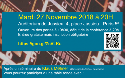 "General Public conference on"" Quantum Computer"""