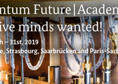 Ecole d'été franco-allemande «Quantum Future   Academy».