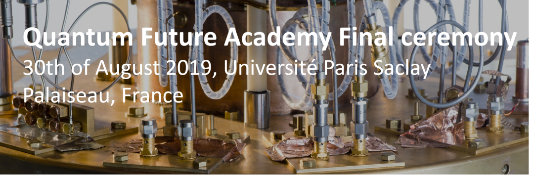 Final ceremony « Quantum Future | Academy ».