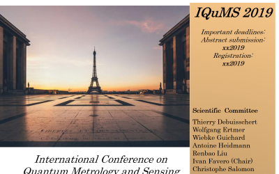 Feedback on IQUMS International conference on quantum Metrology and sensors Paris 2019
