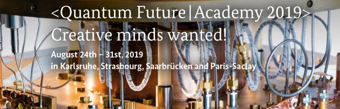 Ecole d'été franco-allemande «Quantum Future | Academy».