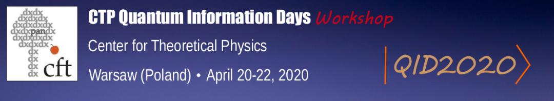 CTP Quantum Information Days 2020