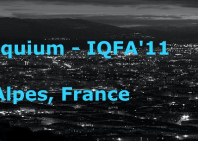11th colloquium, IQFA'11