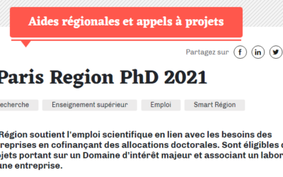Paris Region PhD 2021