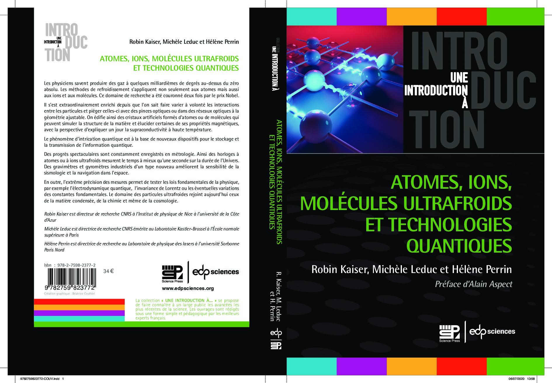 Atomes, ions, molécules ultrafroids et technologies quantiques