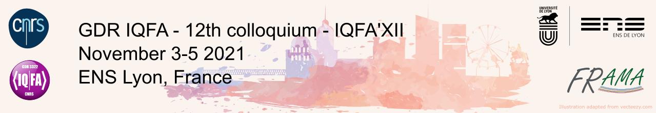 Quantum Engineering, Fundamental Aspects to Applications (IQFA)-12th colloquium